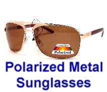 Polarized Metel Sunglasses