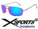 Xsports Metal Sunglasses