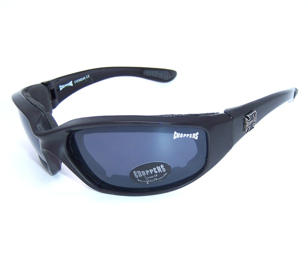 Foam Padded Motorcycle Goggles Choppers Sunglasses CHOP005