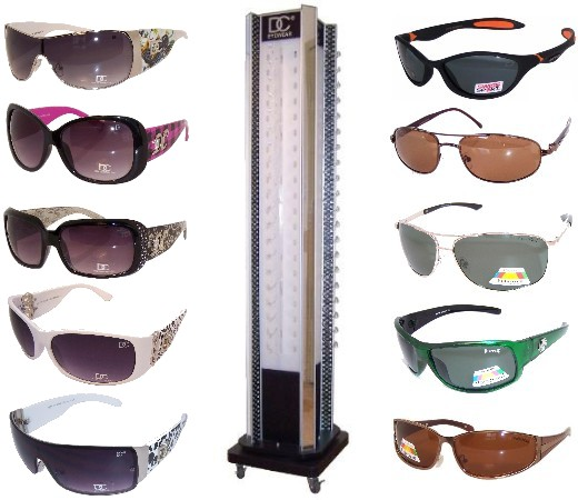Sunglasses Package with Stand