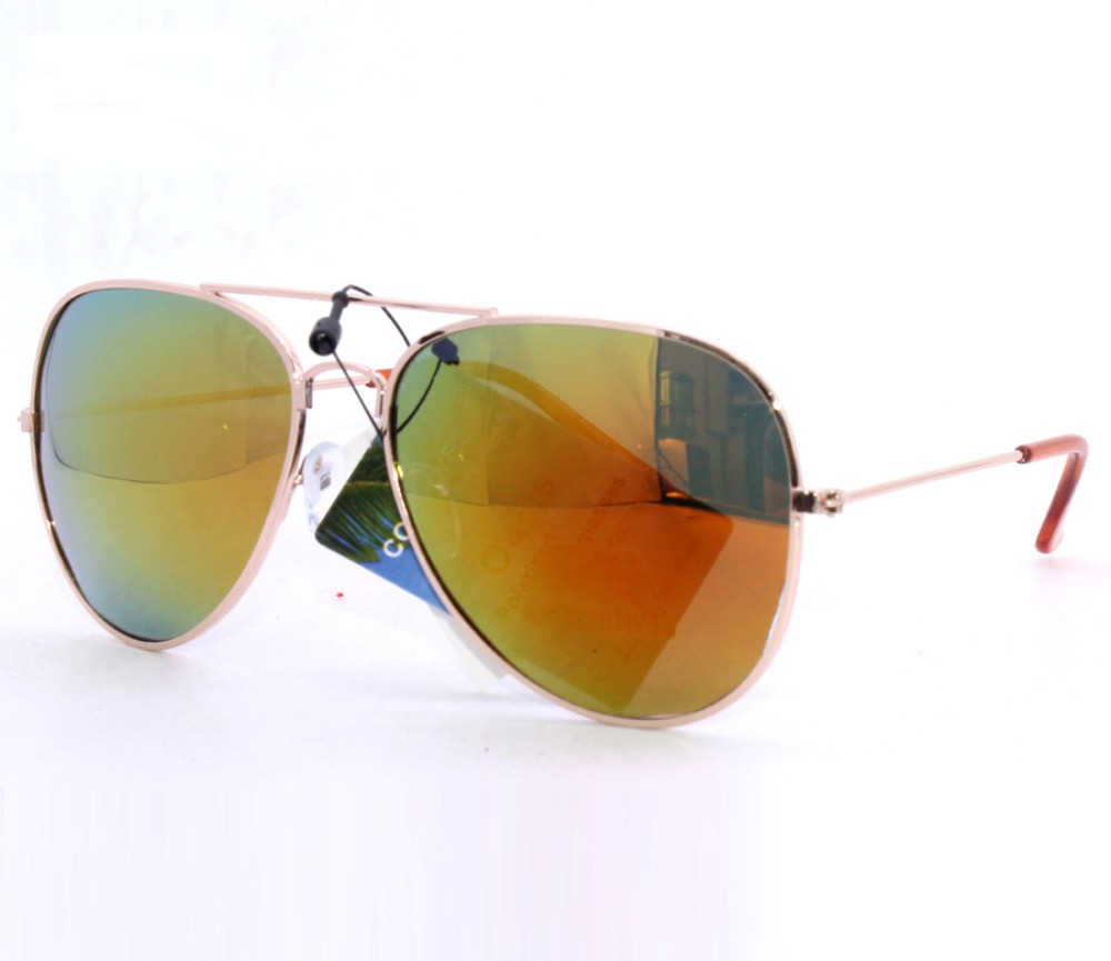Aviator Metal Polarized Tint Lens Sunglasses AV008PM-2